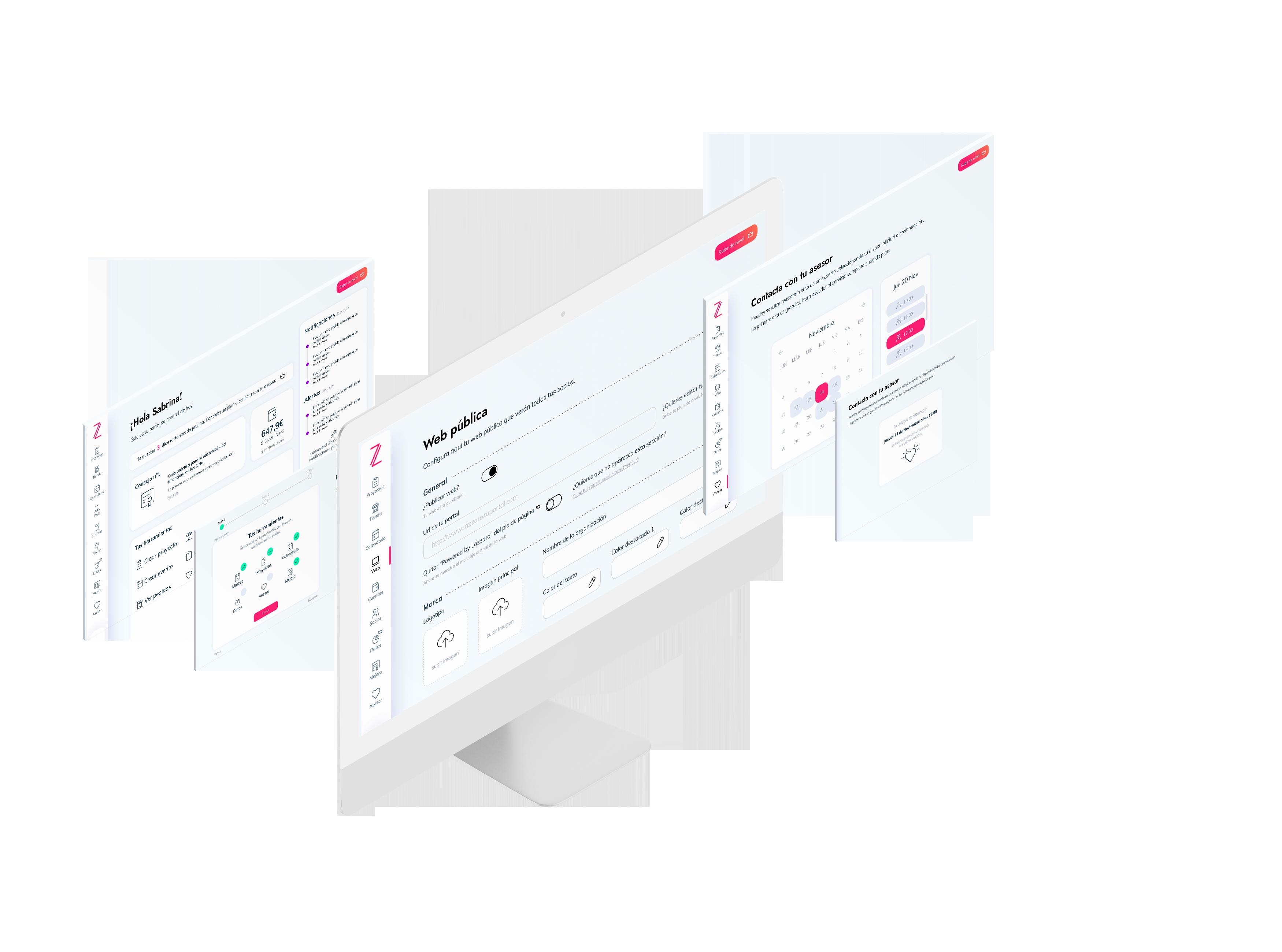 La plataforma web todo en uno para gestionar los ingresos digitales de tu organización